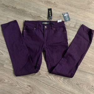 NWT girls purple lucky jeans // skinny jeans
